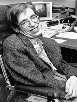 Stephen Hawking. Celebridad Académica. Esclerosis Lateral Amiotrófica (ELA)