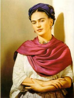 Frida Kahlo. Pintora de renombre. Discapacidad física